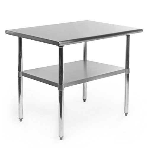 Gridmann-Stainless-Steel-Commercial-Kitchen-Prep-Work-Table-36-in-x-24-in-0