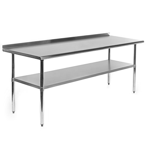 Gridmann-Stainless-Steel-Commercial-Kitchen-Prep-Work-Table-w-Backsplash-72-x-30-0