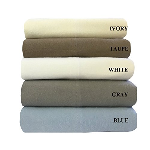Heavyweight-Flannel-100-Cotton-Sheet-Set-4PC-bed-sheets-170-GSM-0