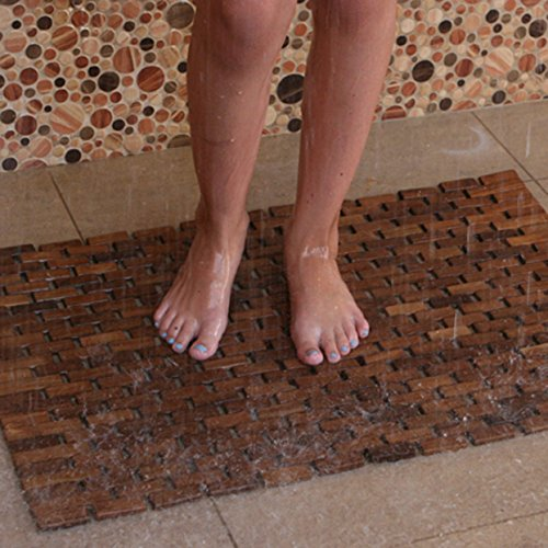 Hip-o-Modern-Living-Foldable-Teak-IndoorOutdoor-Bath-Shower-and-Floor-Mat-0-0
