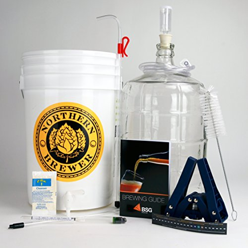 Home-Brew-Ohio-RL-WKZ2-0IJS-Gold-Complete-Beer-Equipment-Kit-K7-with-5-gal-Glass-Carboy-0