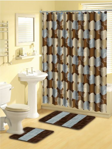 Home-Dynamix-LUX03-309-Luxury-Polyester-15-Piece-Bath-Set-Blue-0