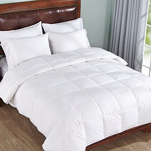 Home-Elements-Lightweight-Warm-Down-Comforter-Cotton-550-Fill-Power-White-0