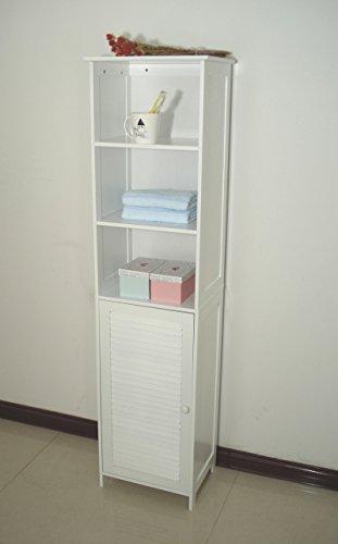 Homecharm-Intl-HC-044-Tower-Bathroom-Cabinet-LouveredWhite-0-0