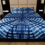 Indigo-Bedding-Set-Shibori-Indian-Bedspread-Queen-Tie-Dye-Bed-Cover-With-Pillow-Cover-Handmade-Cotton-Bedsheet-0-1