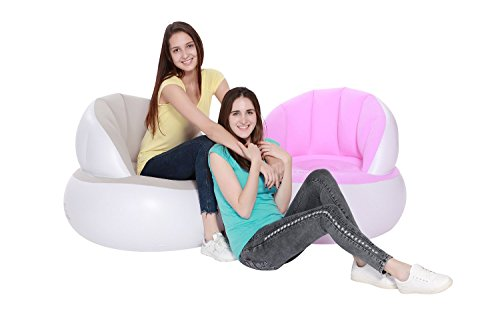 Inflatable-SofaGREEN-JUNGLE-Inflatable-Chair-Inflatable-Ultra-Lounge-Super-Comfortable-Durable-with-Ergonomic-Design-Fast-InflateDeflate-No-Leakage-No-Pop-0-0