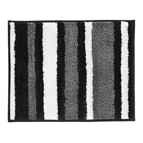 InterDesign-Microfiber-Stripz-Bathroom-Shower-Accent-Rug-0