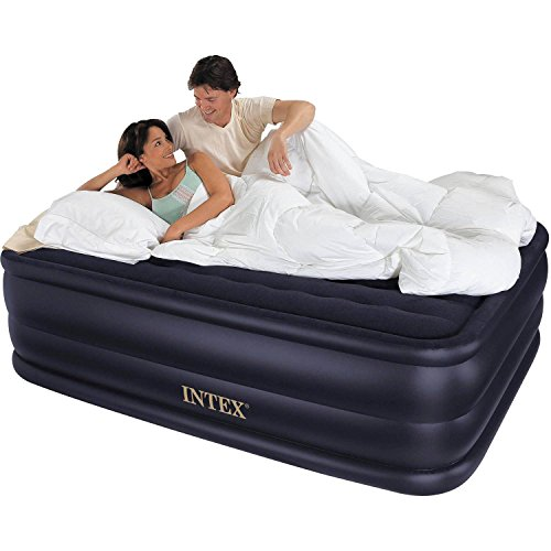 Intex-Airbed-With-Built-in-Electric-Pump-Queen-Size-22-Raised-Downy-Waterproof-Air-Mattress-Bed-Flocked-Top-Inflates-Under-5-Minutes-60W-x-80D-x-22H-600-lb-capacity-0
