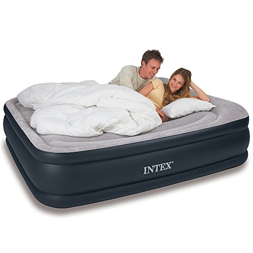 Intex-Deluxe-Pillow-Rest-Raised-Airbed-with-Soft-Flocked-Top-for-Comfort-Built-in-Pillow-and-Electric-Pump-Queen-Bed-Height-1675-0