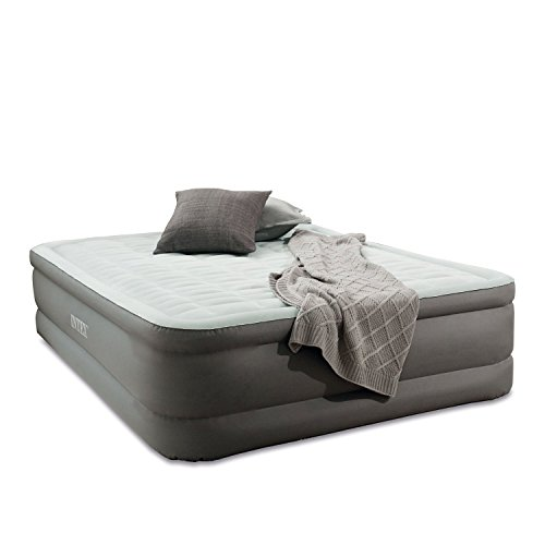 Intex-PremAire-Elevated-Airbed-with-Built-in-Electric-Air-Pump-Queen-0