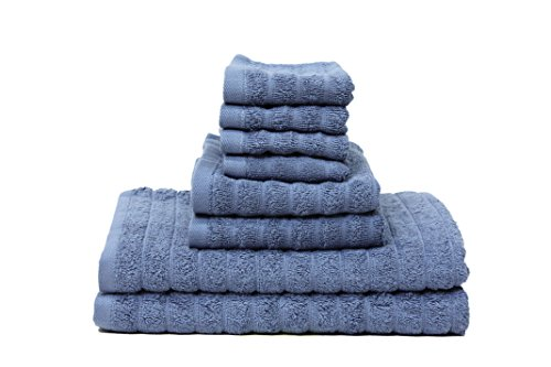 J-M-Home-Fashions-8-Piece-Adriatic-Bath-Towel-Ensemble-Set-Hedge-Green-0
