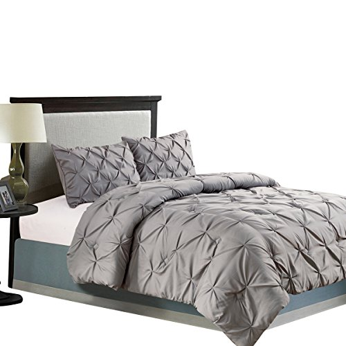 Jackson-Hole-Home-3-PC-Elegant-Original-Pinch-Pleat-Puckering-Comforter-Set-0