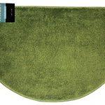 Kashi-Home-Hailey-Collection-Slice-Style-Bath-Rug-18-x-30-Decorative-Bathroom-Rug-Olive-0