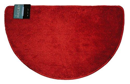 Kashi-Home-Hailey-Collection-Slice-Style-Decorative-Bathroom-Rug-18-x-30-Burgundy-0