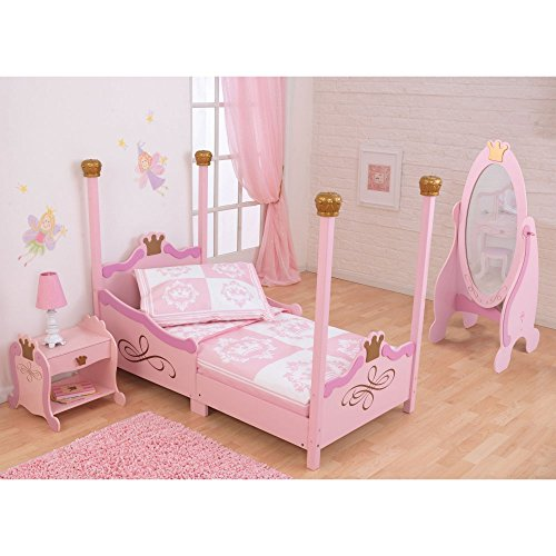 KidKraft-Princess-Toddler-Bed-Pink-76121-0
