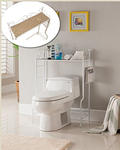 Kings-Brand-Etagere-Freestanding-Bathroom-Shelf-Storage-Organizer-Rack-0-2