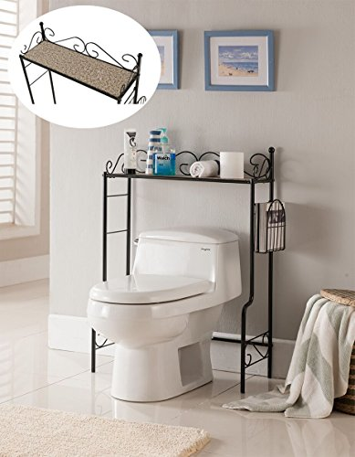 Kings-Brand-Etagere-Freestanding-Bathroom-Shelf-Storage-Organizer-Rack-0