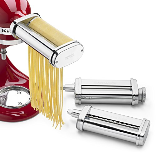 KitchenAid-KSMPRA-3-Piece-Pasta-Roller-Cutter-Attachment-Set-Silver-0-0