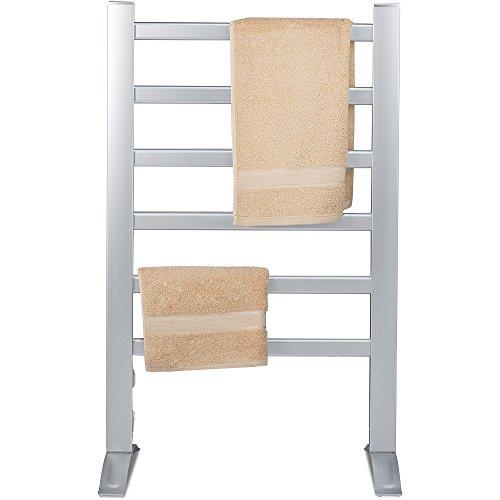 Knox-Freestanding-Mountable-Towel-Warmer-Drying-Rack-6-Bars-Aluminum-Frame-0-1