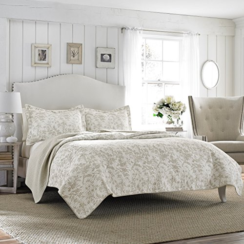 Laura-Ashley-Amberley-Bisquit-Reversible-Quilt-Set-0