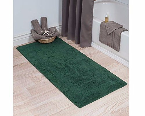 Lavish-Home-100-Cotton-Reversible-Long-Bath-Rug-0