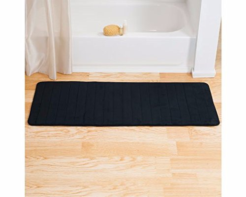 Lavish-Home-Memory-Foam-Striped-Extra-Long-Bath-Mat-0