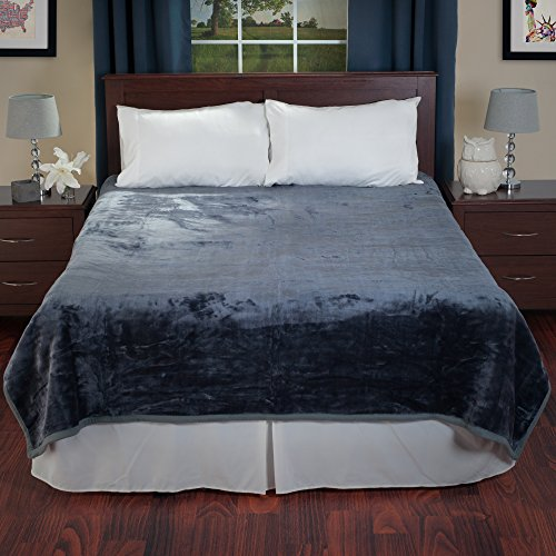 Lavish-Home-Solid-Soft-Heavy-Thick-Plush-Mink-Blanket-0-0