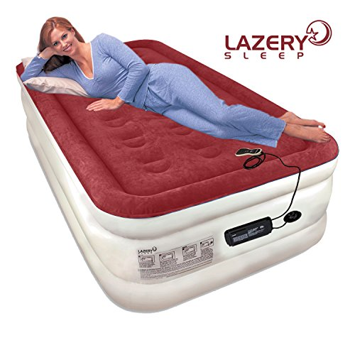 Lazery-Sleep-Air-Mattress-Airbed-with-Built-In-Electric-7-Settings-Remote-LED-Pump-0