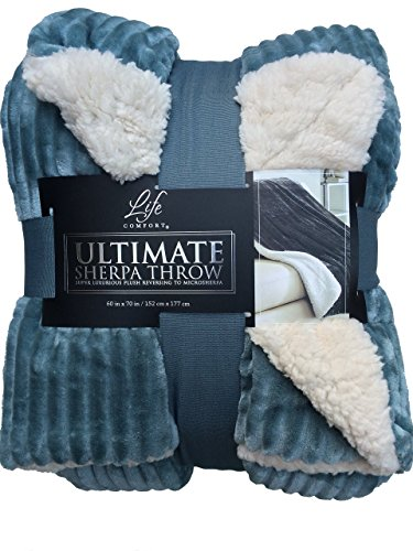 Life Comfort Ultimate Sherpa Throw 60 In X 70 In Local