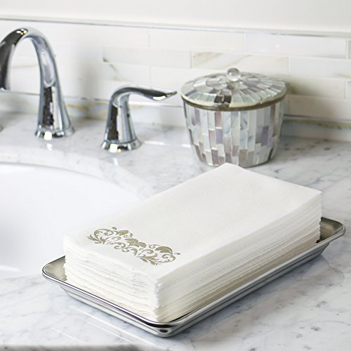 Linen-Feel-Guest-Towels-250-Pack-Disposable-Cloth-Like-Tissue-Paper-Hand-Napkins-Great-for-Bathroom-and-Powder-Room-0-0