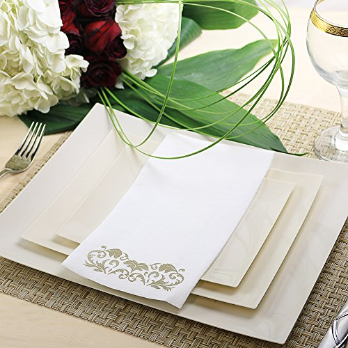 Linen-Feel-Guest-Towels-250-Pack-Disposable-Cloth-Like-Tissue-Paper-Hand-Napkins-Great-for-Bathroom-and-Powder-Room-0-1