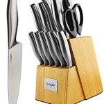 LivingKit-Stainless-Steel-Kitchen-Knife-Block-Set-14-Piece-0
