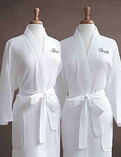 Luxor-Linens-Egyptian-Cotton-Waffle-Weave-Robe-with-Womens-Couples-Embroidery-Perfect-Gay-Wedding-Gift-0