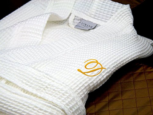 Luxor-Linens-Waffle-Weave-Spa-Bathrobe-Ciragan-Collection-Luxurious-Super-Soft-Plush-Lightweight-100-Egyptian-Cotton-Made-in-Turkey-Available-with-Custom-Monogramming-0-1