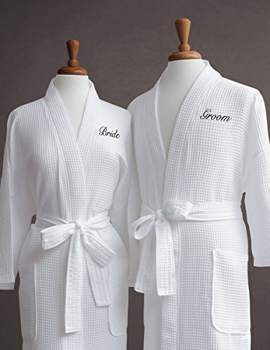 Luxor-Linens-Waffle-Weave-Spa-Bathrobe-Ciragan-Collection-Luxurious-Super-Soft-Plush-Lightweight-100-Egyptian-Cotton-Made-in-Turkey-Available-with-Custom-Monogramming-0