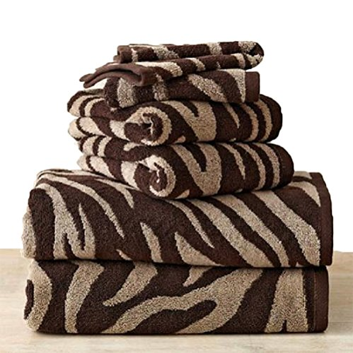 Luxury-Bath-Towels-Set-Will-Update-Your-Bathroom-The-Towel-Set-Is-Soft-Cotton-Extra-Absorbent-High-Quality-The-Zebra-Pattern-Towels-Are-Very-Stylish-By-Placing-This-Unique-Set-to-Your-Bathroom-You-Wil-0-0