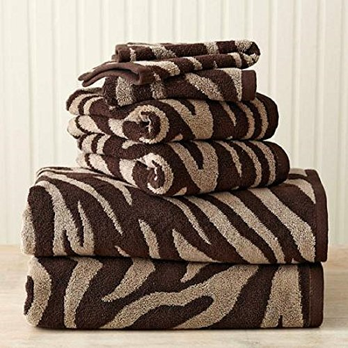 Luxury-Bath-Towels-Set-Will-Update-Your-Bathroom-The-Towel-Set-Is-Soft-Cotton-Extra-Absorbent-High-Quality-The-Zebra-Pattern-Towels-Are-Very-Stylish-By-Placing-This-Unique-Set-to-Your-Bathroom-You-Wil-0
