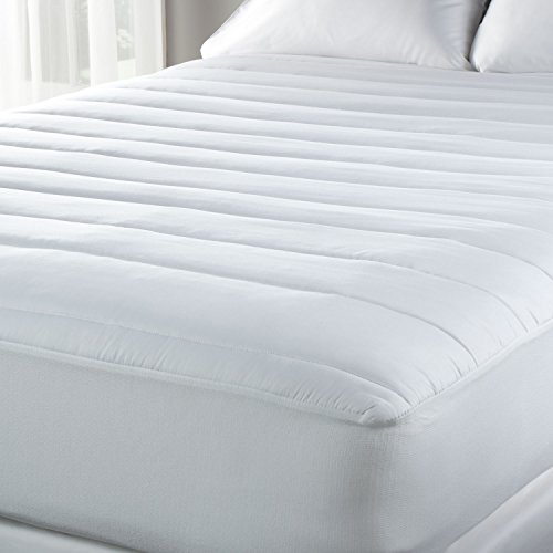 Luxury-Sealy-Temperature-Regulating-Mattress-Pad-Hypoallergenic-Cooling-Tencel-and-Polyester-Blend-0