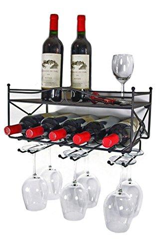 Mango-Steam-Wall-mounted-Wine-Rack-with-Shelf-and-Stemware-Glass-Holder-0-0