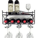Mango-Steam-Wall-mounted-Wine-Rack-with-Shelf-and-Stemware-Glass-Holder-0