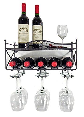 Mango-Steam-Wall-mounted-Wine-Rack-with-Shelf-and-Stemware-Glass-Holder-0
