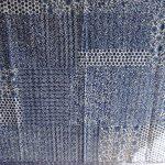 Marubhumi-Hand-Block-Printed-Kantha-Quilt-Queen-Size-Patchwork-Cotton-Bedspread-Blue-0-0