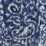Marubhumi-Hand-Block-Printed-Kantha-Quilt-Queen-Size-Patchwork-Cotton-Bedspread-Blue-0-1