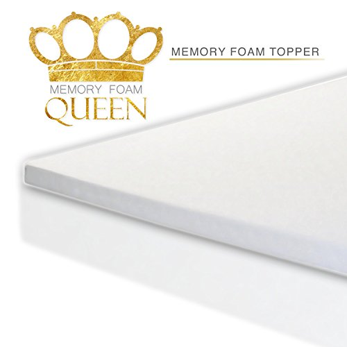 Memory-Foam-Queen-Memory-Foam-Mattress-Topper-0