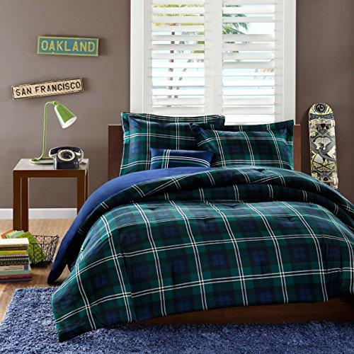 Mizone-Brody-4-Piece-Printed-Microfiber-Comforter-Set-FullQueen-Blue-0-0