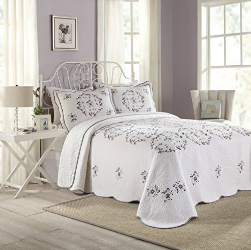 Modern-Heirloom-Collection-Gwen-Cotton-Filled-Bedspread-0