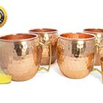 Moscow-Mule-Mugs-Set-Of-4-By-Knooop-Enjoy-The-Traditional-Drink-In-Handmade-16-oz-100-Copper-Mugs-Included-Bonus-Copper-Shot-Glass-And-Cocktail-Recipes-Booklet-0-0