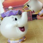 NEW-Beauty-and-The-Beast-Mrs-Potts-Chip-Tea-Pot-Cup-set-Teapot-Mug-0-0