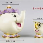 NEW-Beauty-and-The-Beast-Mrs-Potts-Chip-Tea-Pot-Cup-set-Teapot-Mug-0-1