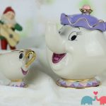 NEW-Beauty-and-The-Beast-Mrs-Potts-Chip-Tea-Pot-Cup-set-Teapot-Mug-0